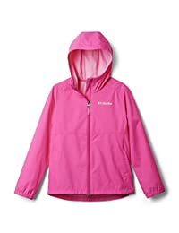 Columbia 女童 Switchback Ii 夹克 粉色冰鞋 2T