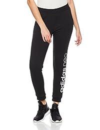 adidas NEO 阿迪达斯运动生活 女式 针织裤 CE3516 黑/白 W CE NEO FLC TP