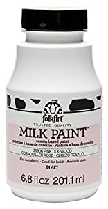 FOLKART 38906 Milk Paints, Pink Dogwood, 6.8 Ounce