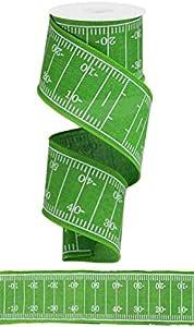 橄榄球场有线边缘丝带 - 10 码 草* 2.5 inch RGA161409