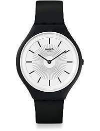 Swatch Skinnoir SVUB100 Black Silicone Quartz Fashion Watch