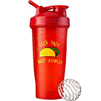 BlenderBottle Just for Fun Classic 28盎司搖杯 Let's Taco 'Bout Fitness 28 盎司