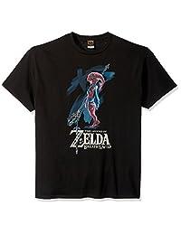 Nintendo 男士 Zelda Breath of The Wild Mipha 绘画 T 恤