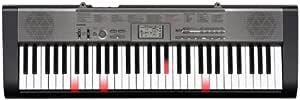 CASIO 卡西欧 LK-125 发光61键电子琴 黑色