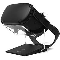 發光充電 VR 支架 - 與 Oculus Quest, HTC Vive, Rift-s, Goo, Cosmos, PSVR,Index 和所有標準尺寸的 VR 耳機兼容 | Aura