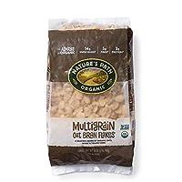 Nature's Path Organic Cereal, Multigrain Oat Bran, 32 Ounce Bag (Pack of 6)