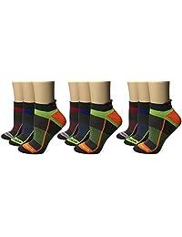 Saucony Inferno 标签袜,炭灰色辅助 (076),M 5-8/W 6-10.5 鞋,9 双