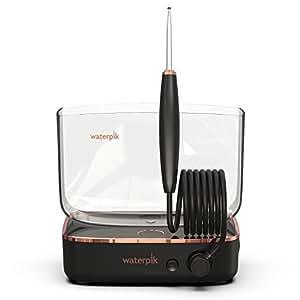 waterpik 洁碧 Sidekick 便携式水牙线,用于旅行和家居,黑色/铜色