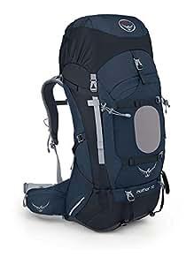 Osprey S13 男式 苍穹 Aether 70 蓝色 L码 耐用户外徒步穿越登山越野双肩重装背包带防雨罩轻量背包 三年质保终身维修(两种LOGO随机发,详见页面下方注释)