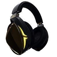 华硕 ROG Strix Fusion Virtual 7.1 LED 游戏耳机,带高保真度 ESS DAC,ESS 放大器,数字麦克风和 Aura Sync RGB 照明ROG STRIX FUSION 700 Strix Fusion 700 11.3 x 7.3 x 13