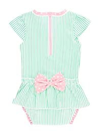 RuffleButts 婴儿/幼儿女孩裙一件式*服泳衣