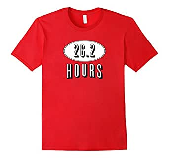 26.2 Hours of TV or Netflix Funny Marathon Runner T-Shirt 红色 Male Large