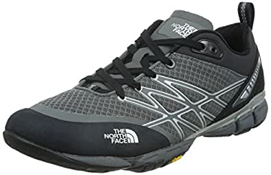 THE NORTH FACE 北面 男 越野跑鞋 CCF8QH4 深灰色 39.5