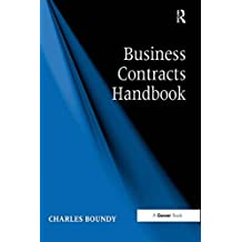 Business Contracts Handbook (English Edition)