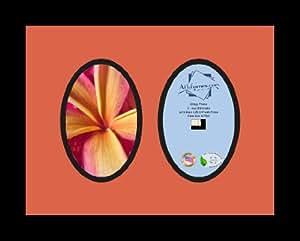 Art to Frames 双-多衬垫-439-866/89-FRBW26079 拼贴照片相框 双衬垫带 2 个 - 4x6 开口和缎面黑边框