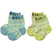 Baby Story 2双装 新生儿袜子 脚踝