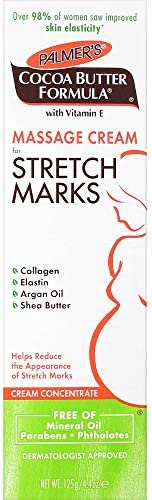 Cocoa Butter Massage Cream For Stretch Marks
