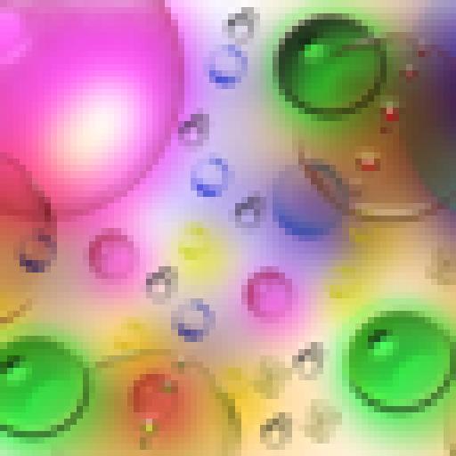 彩色水滴动态壁纸