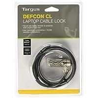 Targus DEFCON T-Lock 可重置组合电缆锁 适用于笔记本电脑和桌面* (PA410U)