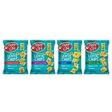 Enjoy Life 扁豆薯片 不含大豆/不含坚果/不含麸质/不含奶制品 素食 缤纷装 0.80盎司(22克)包(24包)