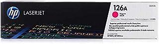 HP 惠普 126A(CF341A)蓝色 / 黄色 / 红色原装碳粉适用于惠普 Color LaserJet Pro 和 HP 126 A 蓝色硒鼓。 Magenta 1.000 Seiten 品红色
