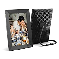 Nixplay 10.1 Inch Smart Digital Photo Frame - share Moments Instantly Via App or E-Mail