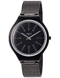 Swatch Skinotte SVOB100M Black Metal Swiss Quartz Fashion Watch