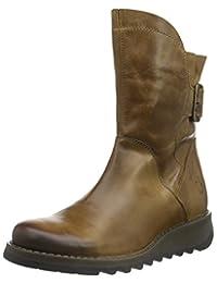 FLY LONDON SMINX 女 中筒靴SIEN571FLY P143571(亚马逊进口直采,葡萄牙品牌