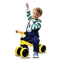 AKABELA 婴儿平衡自行车儿童步行者玩具礼物骑行适合 1 2 3 岁男孩女孩 6-24 个月宝宝无踏板婴儿*辆自行车 *个生日新年礼物 1 2 3 岁老玩具
