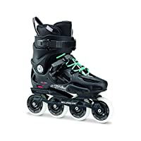 Rollerblade 罗勒布雷德 轮滑鞋 成人街区轮滑鞋 TWISTER 80 W 255 黑色(蓝绿色鞋带) 40