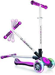 globber ELITE 3轮可折叠可调节高度滑板车