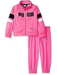 Puma 女童慢跑套装