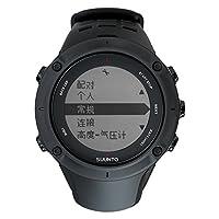 【国行正品】SUUNTO 颂拓 AMBIT3 PEAK 中性 拓野3系列智能手表腕表 SS020677000 巅峰黑色