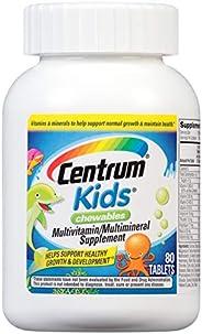 Centrum 善存 兒童咀嚼片 多種維生素/礦物質補充片 (櫻桃,橙子,水果味)(80粒)
