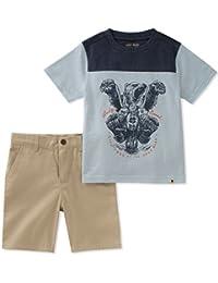 Lucky Brand 男婴短裤套装