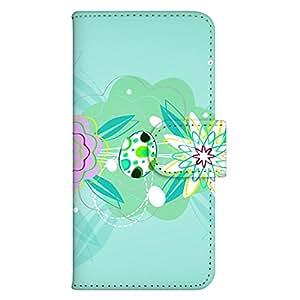 智能手机壳 手册式 对应全部机型 印刷手册 wn-561top 套 手册 花朵图案 单点图案 UV印刷 壳WN-PR061441-MX AQUOS Xx2 502SH B款