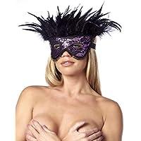 rimba 奢华眼罩,紫色 - 黑色,200 克