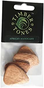 Timber Tones P4-AFMH African Mahogany Guitar Picks