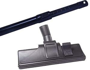 35 mm 伸缩管 适用于 Miele 真空吸尘器,带 5 个簧片器 Miele S 2541 Alu Saugrohr + Kombidüse