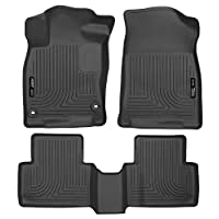 Husky Liners Front & 2nd Seat Floor Liners Fits 16-18 Civic Coupe/Civic Sedan