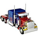 Optimus Prime 卡车,机器人在底盘上铸模版电影 Hollywood Rides 系列压铸模型 Jada 30446