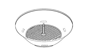 Magma Bowl Assembly, Original Size, Charcoal Grill, Replacement Part