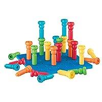 Lauri Tall-積木 - 拼插堆高塑料玩具套裝