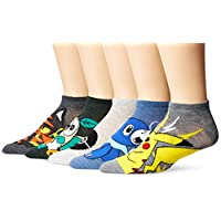 Pokemon 男式短袜 5 双装