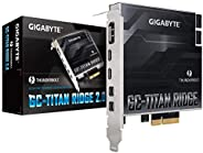 GIGABYTE 技嘉 GC-Titan Ridge 2.0 (Titan Ridge Thunderbolt 3 PCIe 卡组件)