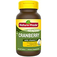 Nature Made 天维美 蔓越莓+维生素C 软胶囊,60粒