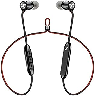 Sennheiser HD1 免費藍牙無線耳機,藍牙 4.2 帶 Qualcomm Apt-X 和 AAC,6 小時電池續航時間,1.5 小時快速 USB 充電,多連接 2 臺設備