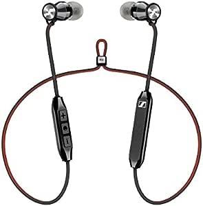 Sennheiser HD1 免费蓝牙无线耳机,蓝牙 4.2 带 Qualcomm Apt-X 和 AAC,6 小时电池续航时间,1.5 小时快速 USB 充电,多连接 2 台设备