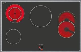 Siemens 西門子 EA845GN17 iQ300 爐灶 電動 / 79.5 厘米/扁平框架設計 玻璃?;ご蠐?舒適性:4 個高速度-1 個帶可切換的烘烤區-1 個二圈-科區/黑色