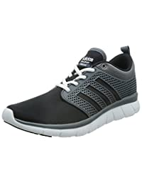adidas cloudfoam Groove ,男式训练 Black - Schwarz (Lead/Core Black/Ftwr White) 10 UK